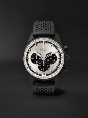 Zenith El Primero Chronomaster 1969 42mm Ceramicised Aluminium And Rubber Watch, Ref. No. 24.2041.400/21.r576