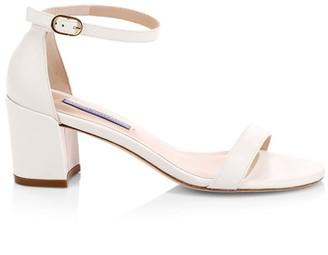 Stuart Weitzman Simple Leather Sandals