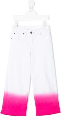 Stella Mccartney Kids Dip-Dye Straight-Leg Jeans