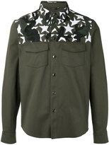 Valentino Camustar yoke insert shirt - men - Cotton/Polyester - 48