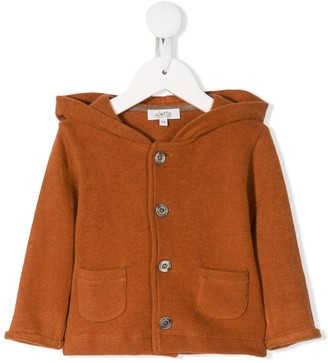 Aletta Hooded Button-Up Jacket