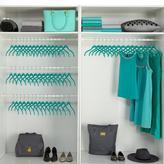 JOY Huggable Hangers Galore Closet Makeover Set - 60 Shirt Hangers - Chrome
