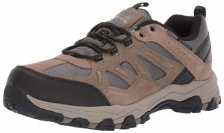 Skechers Men's SELMEN-ENAGO Trail Oxford Hiking Shoe Tan 9 Extra Wide US