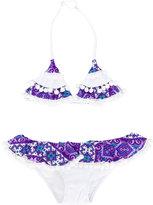 Mc2 Saint Barth Kids - Bonny bikini set - kids - Polyamide/Spandex/Elastane - 2 yrs