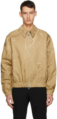 Sean Suen Khaki Embroidered Jacket
