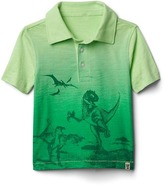 Gap Graphic slub polo