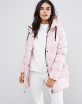 Thumbnail for your product : Brave Soul Mid Padded Coat