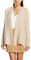 Passport Women's Long Sleeve Cardigan - Beige -