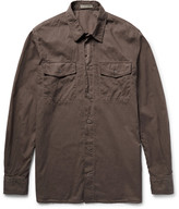 Bottega Veneta - Garment-dyed Cotton Shirt