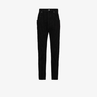 Thierry Mugler High Waist Panelled Jeans