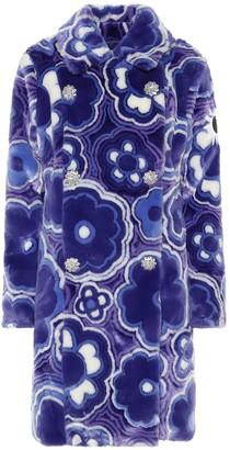 MONCLER GENIUS 8 MONCLER RICHARD QUINN Donyale floral faux-fur coat