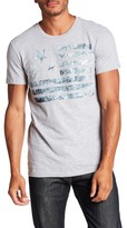 William Rast Washed Flag Graphic Tee
