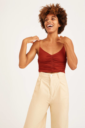 Urban Outfitters Marcie Ruched Cami