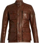 Belstaff Trailmaster waxed-leather biker jacket