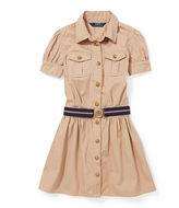 Ralph Lauren Tissue Cotton Chino Shirtdress