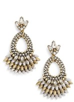 BaubleBar Women's Tille Crystal Drop Earrings
