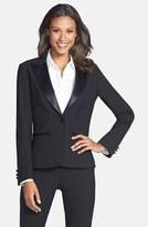 Women's After Six Stretch Wool Tuxedo Jacket