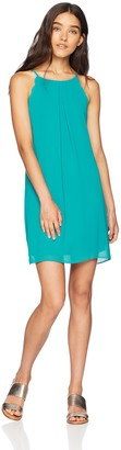 Amy Byer A. Byer Scalloped Edge Shift Dress (Junior's)