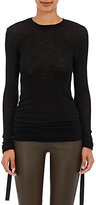 Helmut Lang Women's Ruched Sides Sweater-BLACK