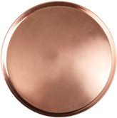 Houseology Jansen + co Copper Tray Round Medium