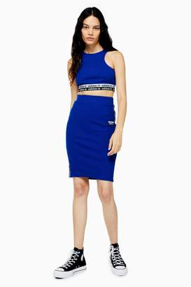 adidas Womens Tape Side Pencil Skirt By Cobalt