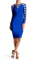 Wow Couture Bandage Cutout Bodycon Dress