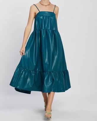 Simon Miller Pumpa Layered Tank Dress
