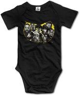 Vogt Wu Tang Clan Logo Unisex Baby Onesies
