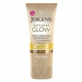 Jergens Natural Glow & Protect Daily Moisturizer SPF 20, Fair to Medium