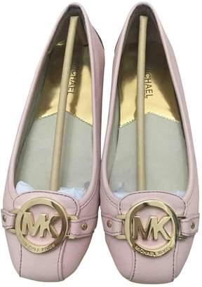 Michael Kors Pink Leather Ballet flats