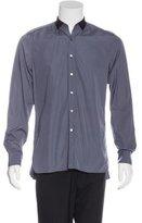 Lanvin Grosgrain-Trimmed Dress Shirt