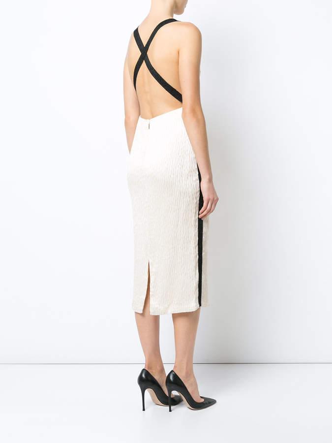 Jason Wu cloque sleeveless cocktail dress
