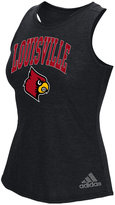 adidas Women's Louisville Cardinals Pattern Arch Tank