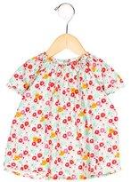 Petit Bateau Girls' Floral Print Blouse
