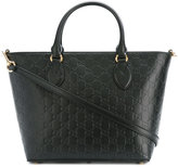 Gucci Signature tote bag - women - Leather/Microfibre - One Size