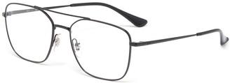 Ray-Ban Metal square frame optical glasses
