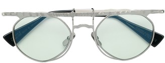 Kuboraum Flat Top Tinted Sunglasses