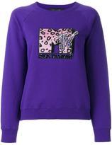 Marc Jacobs MTV x raglan sweatshirt - women - Cotton - S