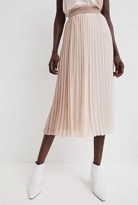 Witchery Spliced Pleat Skirt