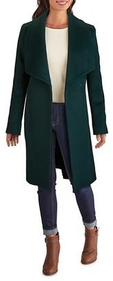 Cole Haan Slick Wrap Wool-Blend Coat