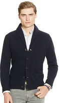 Polo Ralph Lauren Wool Shawl-Collar Cardigan