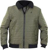 Kangol Mens Designer Branded L/Sleeve Faux Fur Trim Winter Warm Jacket