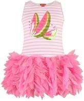 Kate Mack Pink Striped Watermelon Dress