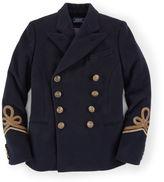 Ralph Lauren Soutache Wool-Blend Jacket