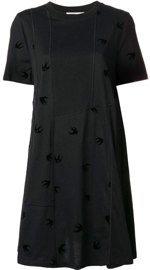 McQ mini swallow babydoll dress