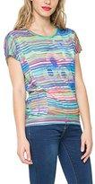 Desigual Women's Knitted T-Shirt Short Sleeve 54