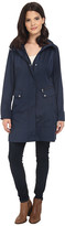 Cole Haan Double Faced Contrast Color Packable Jacket