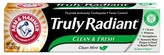 Arm & Hammer Truly Radiant Toothpaste - Clean & Fresh 4.3 oz