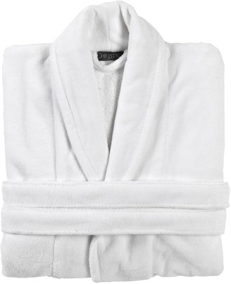 Christy Cosy Robe Small-medium White