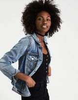 American Eagle Outfitters AE Studded Denim Jacket